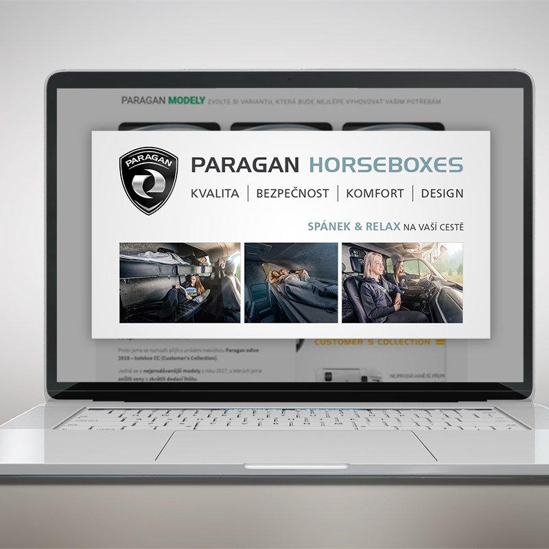 Webové bannery pro firmu Paragan