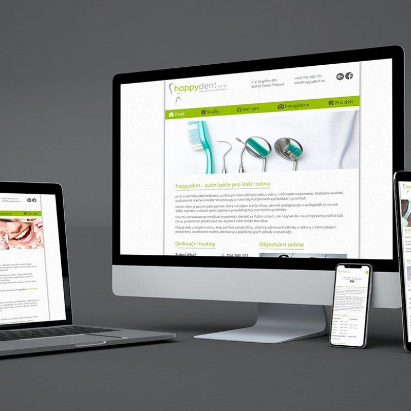 Redesign stávajících webových stránek