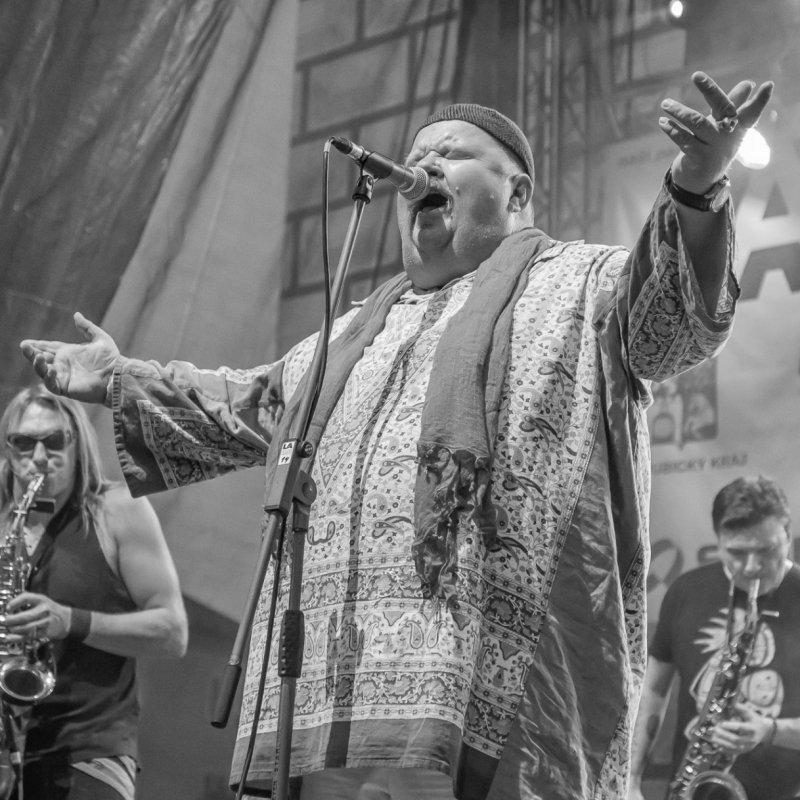 Fotografování koncertu skupiny Čankišou